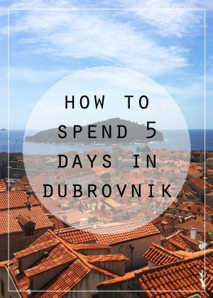 Ideas for making the most of your time in Dubrovnik, Croatia, while sticking to a budget.