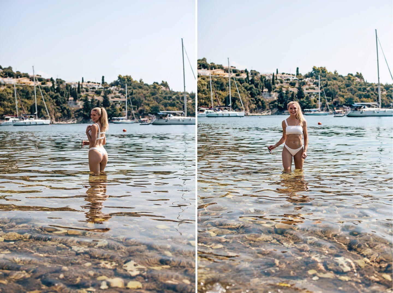 White bikini by PilyQ, from Sun Vixen Swimwear