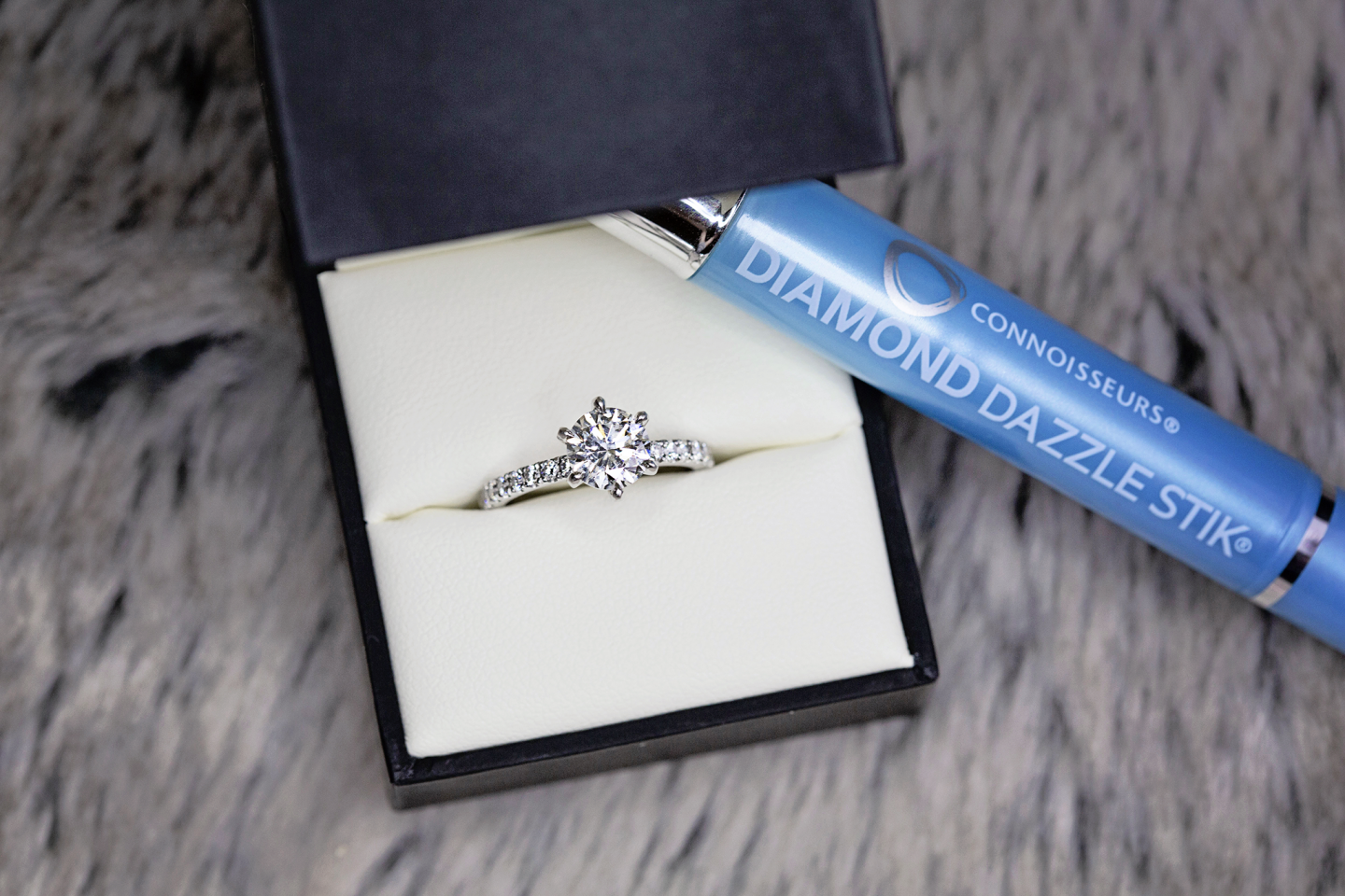 I'd recommend getting a Diamond Dazzle Stik to make your ring shine bright!
