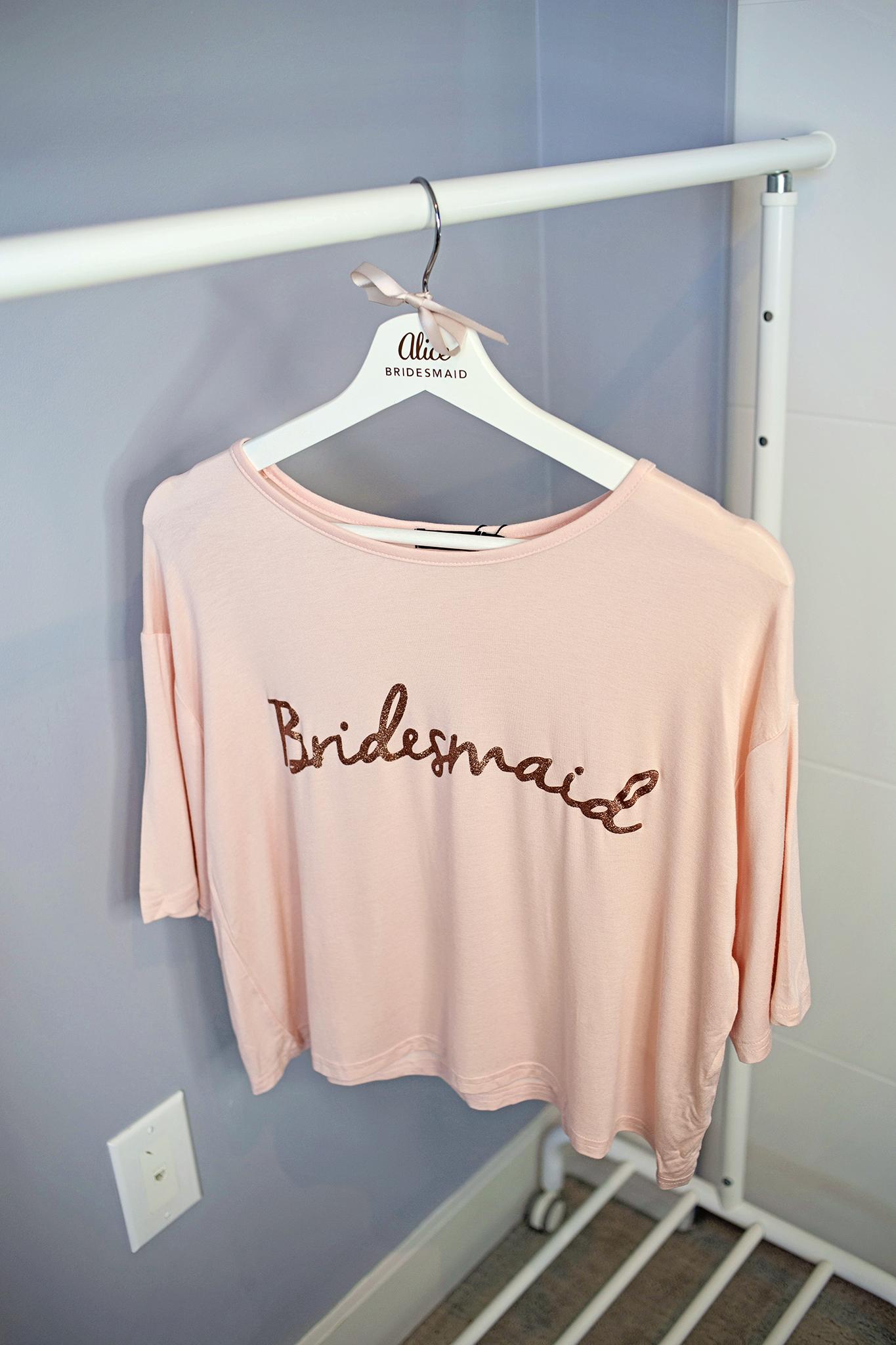 Bridesmaid pyjamas